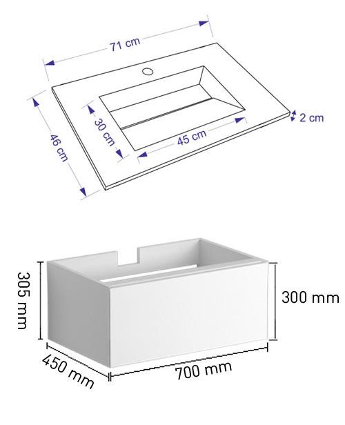 TECHNICAL DRAWING schema--tech-tandem-71cm