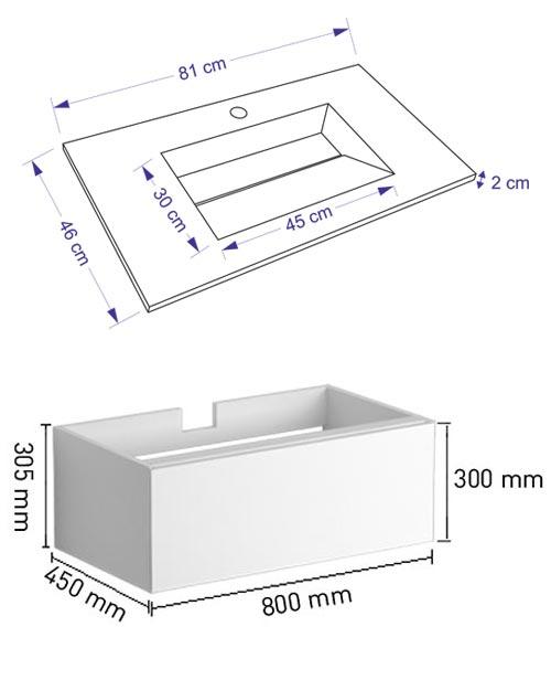 TECHNICAL DRAWING schema--tech-tandem-81cm