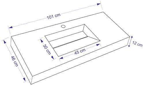 TECHNICAL DRAWING schema-101x12cm