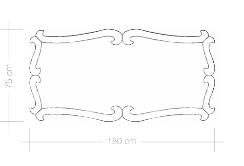 TECHNICAL DRAWING schéma miroir Marie