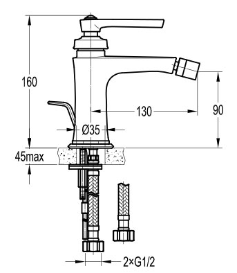 TECHNICAL DRAWING Schéma-FH 8509-D100