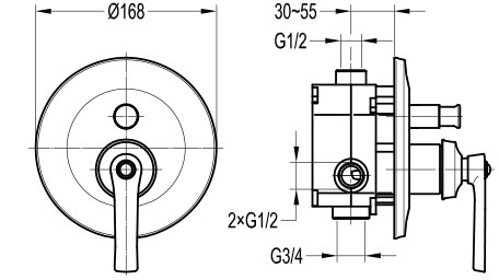 TECHNICAL DRAWING Schéma-FH8308J-D101