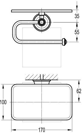 TECHNICAL DRAWING schéma Distributeur de papier