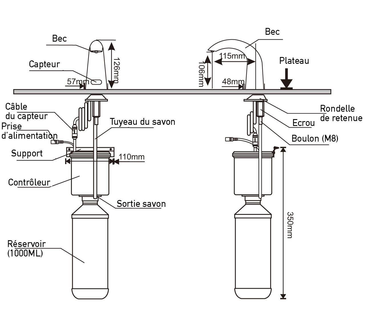 TECHNICAL DRAWING Schéma-technique-distributeur-T