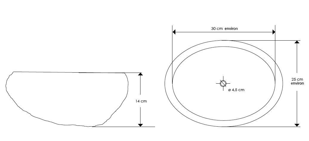 TECHNICAL DRAWING tech-Vasque-en-pierre-CP950-JO