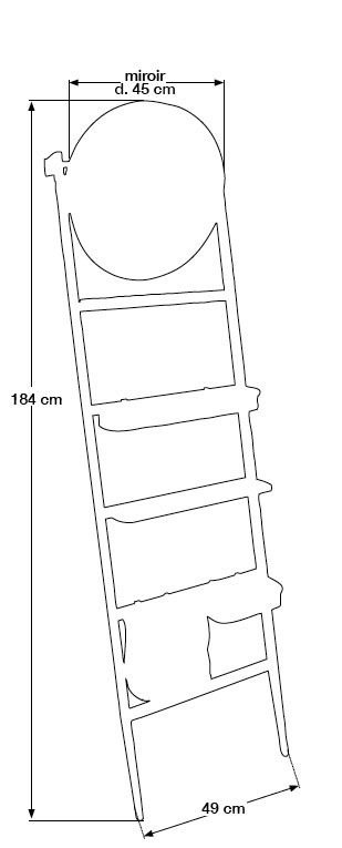 TECHNICAL DRAWING tech-Ordina-Rack-vertical
