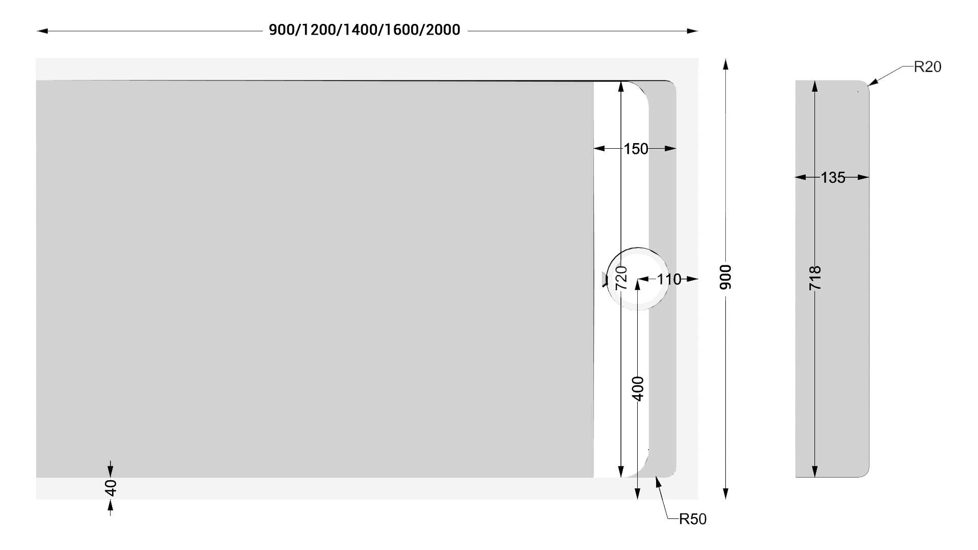 TECHNICAL DRAWING schéma receveur cal. Apolo