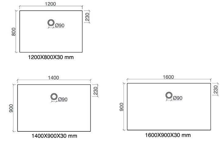TECHNICAL DRAWING Arone120-a-160-tech