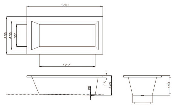 TECHNICAL DRAWING tech-zero-170-tech