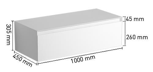 TECHNICAL DRAWING Schéma meuble rangement Aragon