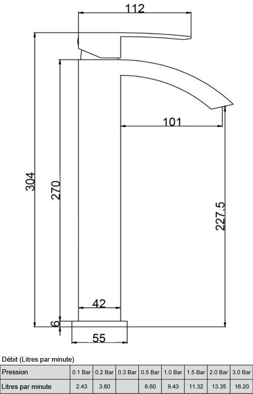 TECHNICAL DRAWING schema-mitigeur-Oglio-sureleve