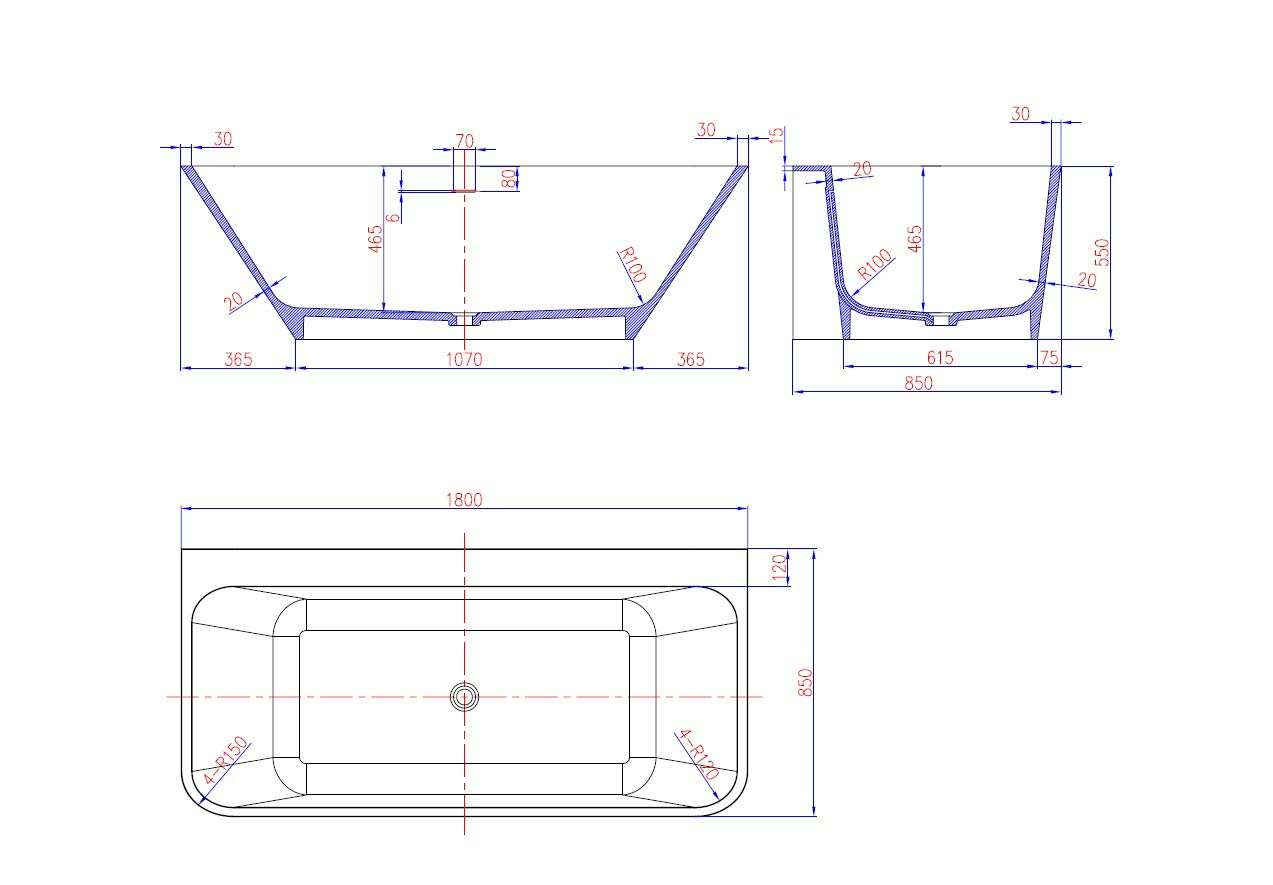 TECHNICAL DRAWING WD6545 technique