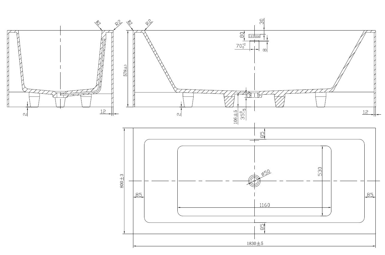 TECHNICAL DRAWING WD65119 technique