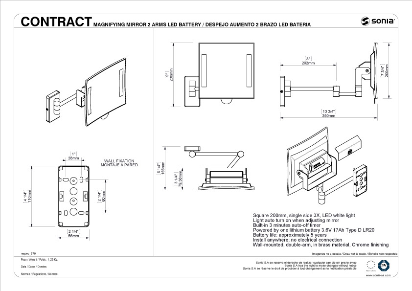 TECHNICAL DRAWING schéma technique 168026