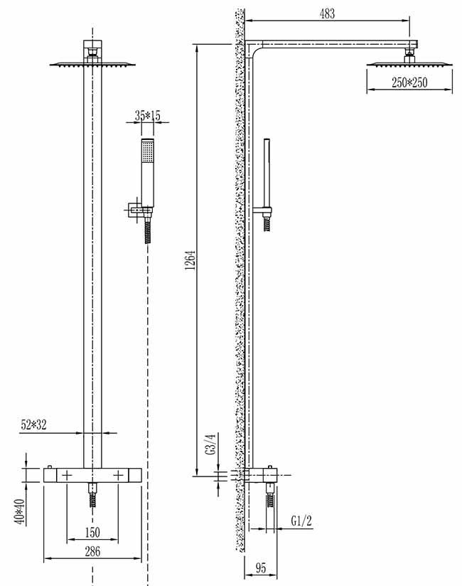 TECHNICAL DRAWING schéma vm59