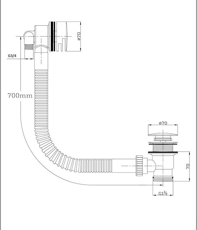 TECHNICAL DRAWING schéma WA89