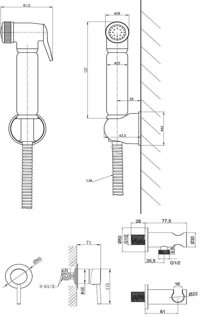 TECHNICAL DRAWING schéma DC78+F41