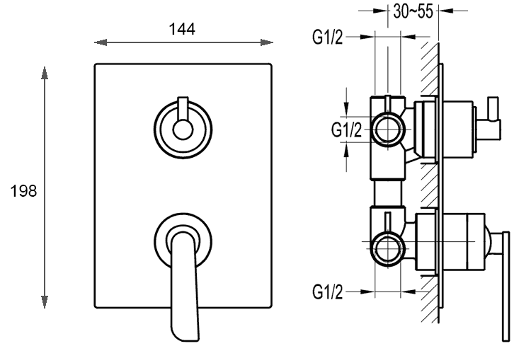 TECHNICAL DRAWING FH-9903-D68_schema