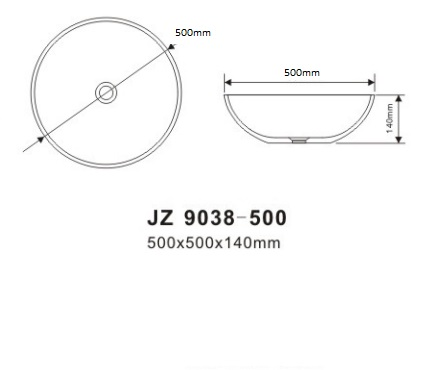 TECHNICAL DRAWING schéma JZ9038-500