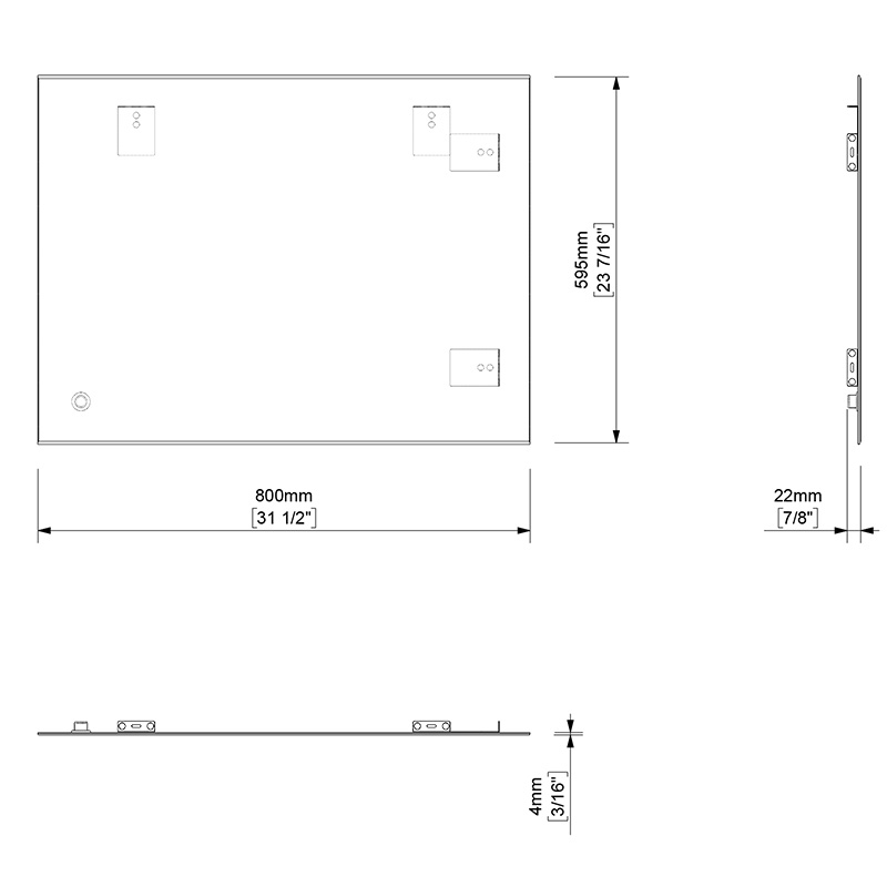 TECHNICAL DRAWING schema-miroir-Basic-80x60cm