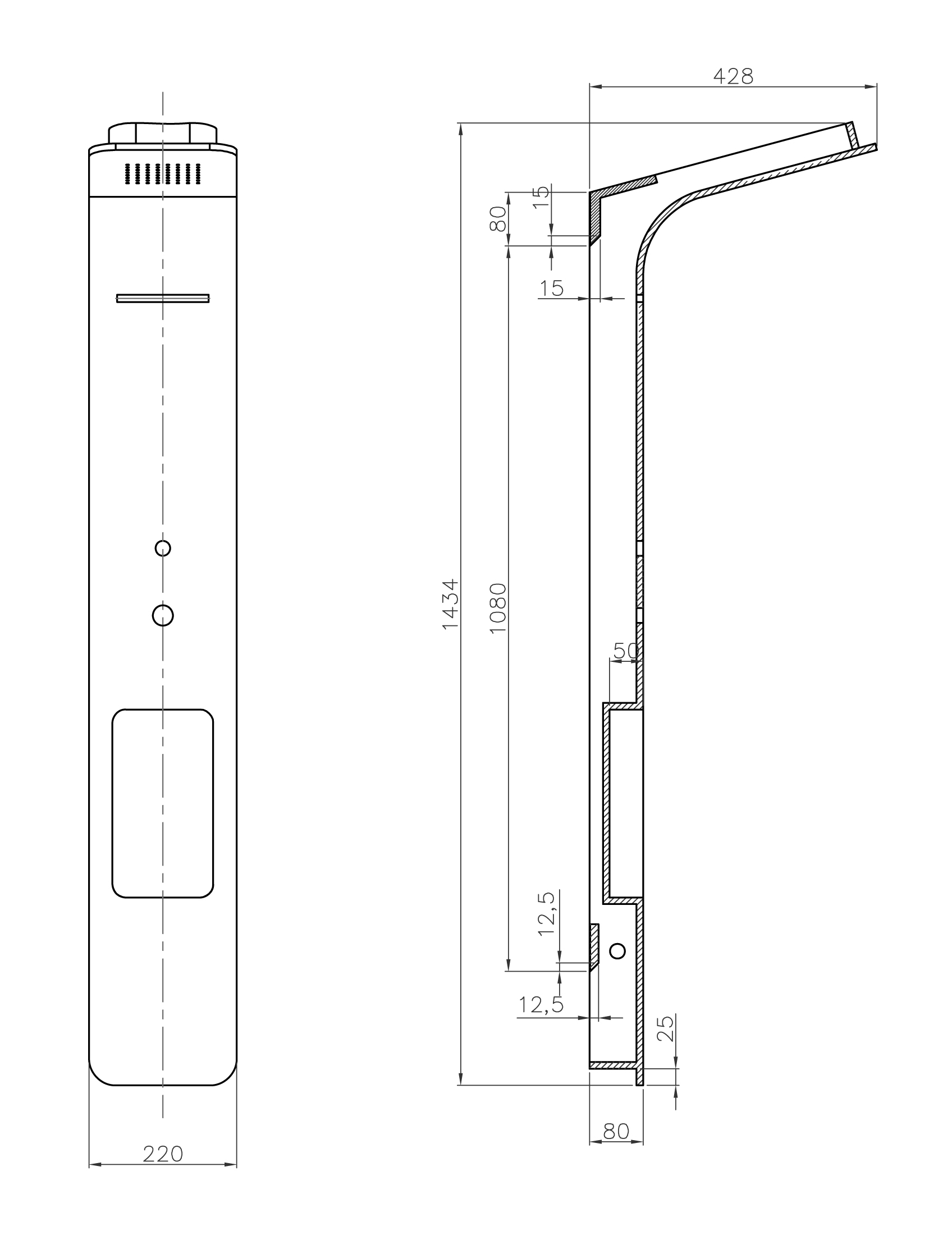 TECHNICAL DRAWING Schéma WD0046