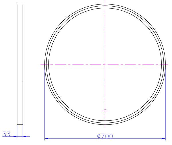 TECHNICAL DRAWING schéma 2906-2