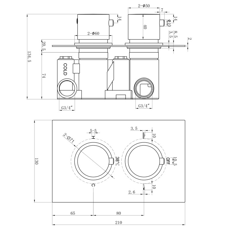 TECHNICAL DRAWING schéma1 CVP03