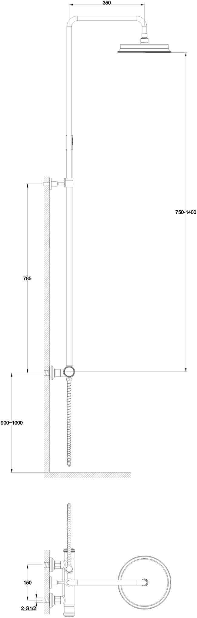 TECHNICAL DRAWING schéma SD101-7001