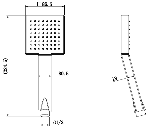 TECHNICAL DRAWING HG65 D