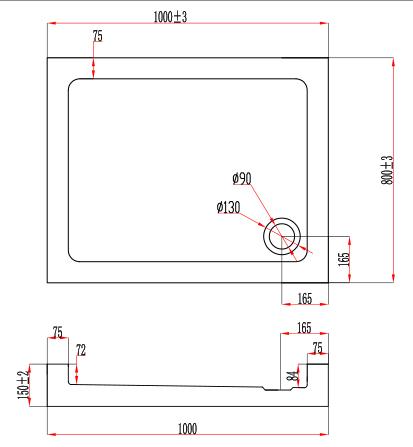 TECHNICAL DRAWING Schema Bora (1000x800x150)