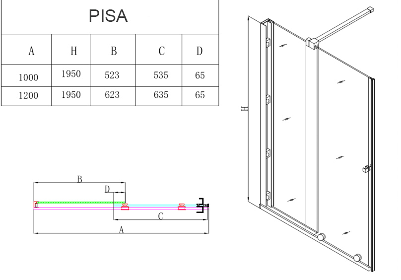 TECHNICAL DRAWING schema-pisa technique