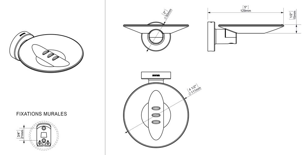 TECHNICAL DRAWING schema-porte-savon