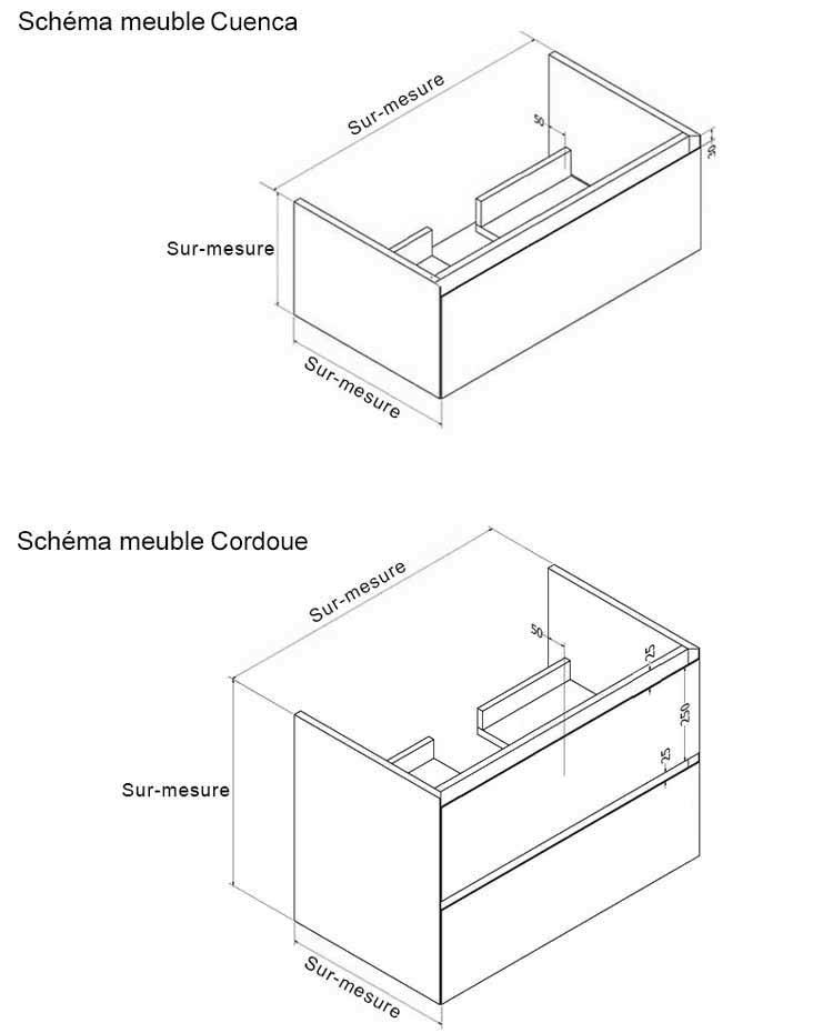 TECHNICAL DRAWING Meuble_Cuenca_Cordoue_schema