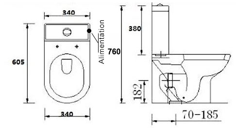 TECHNICAL DRAWING wc-mistra