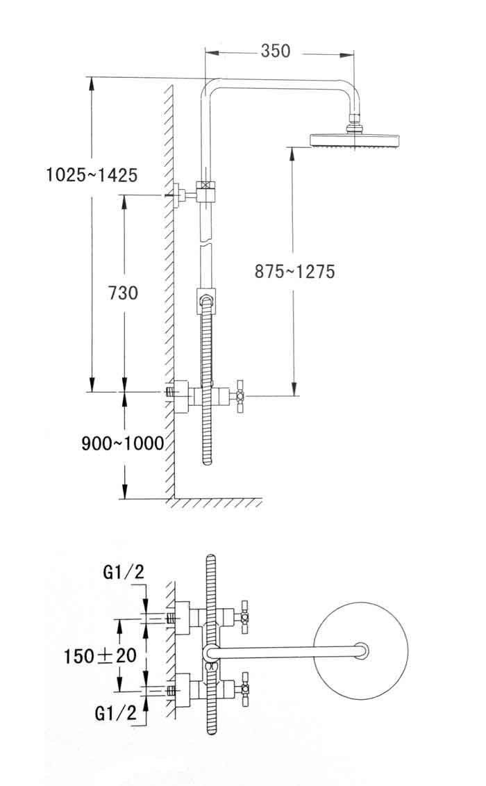 TECHNICAL DRAWING schema-colonne-eili