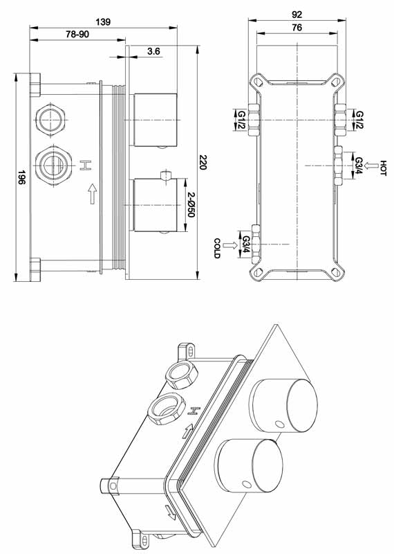 TECHNICAL DRAWING Schema Roll2