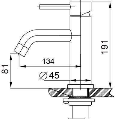 TECHNICAL DRAWING schema mitigeur steel