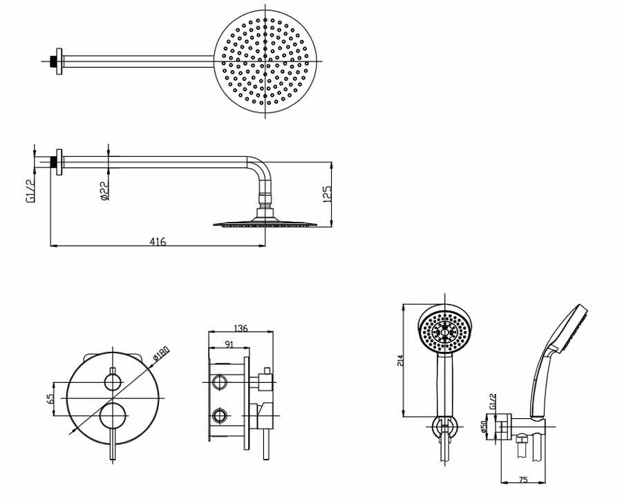 TECHNICAL DRAWING compo schema