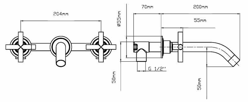 TECHNICAL DRAWING schema melangeur Steel