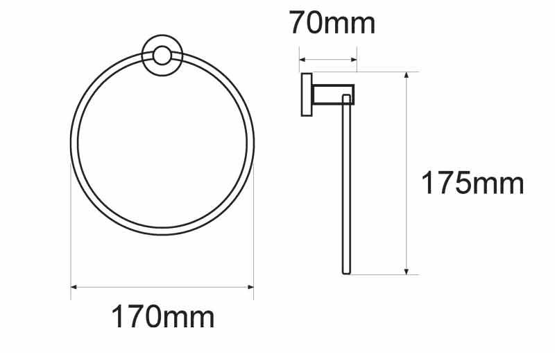 TECHNICAL DRAWING anneau steel