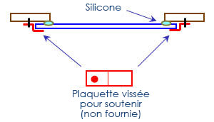 TECHNICAL DRAWING Notice fixation vasque