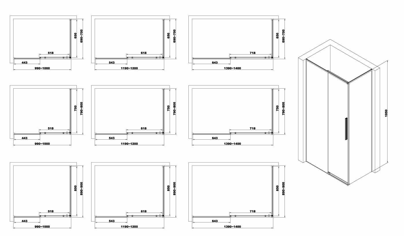 TECHNICAL DRAWING schema-technique Arena porte f