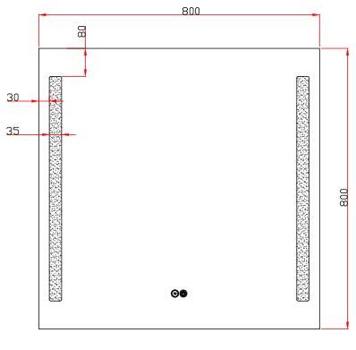 TECHNICAL DRAWING Luce 80x80-schema