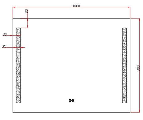 TECHNICAL DRAWING Luce 100x80-schema
