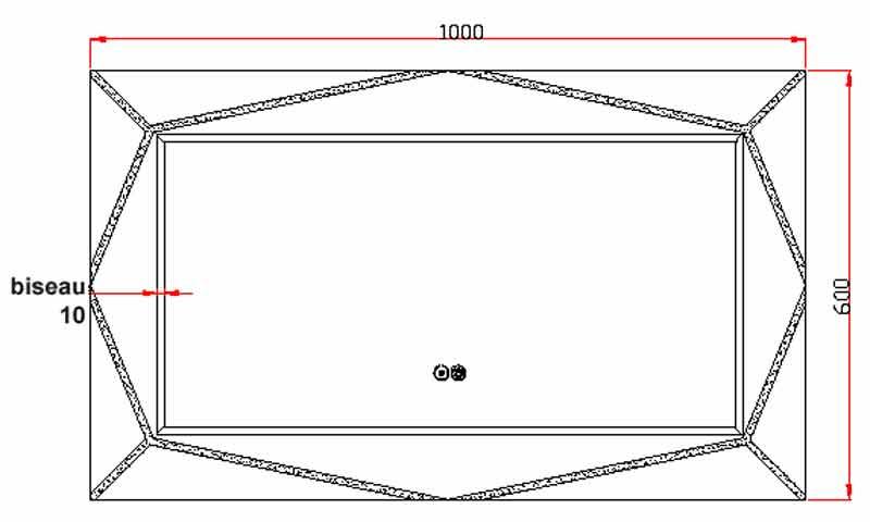 TECHNICAL DRAWING schema art 100x60