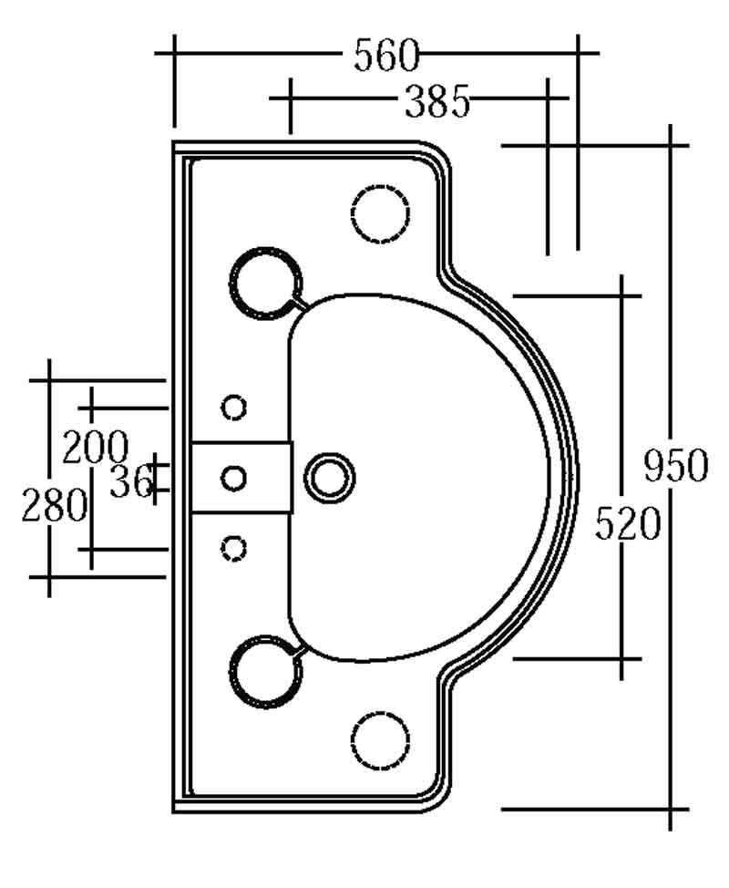 TECHNICAL DRAWING CONSOLESOV95-schema