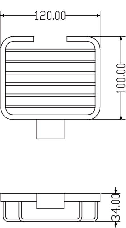 TECHNICAL DRAWING schema-porte-savon-panier-qube