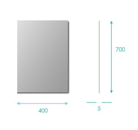 TECHNICAL DRAWING schema-miroir-reflect-40x70