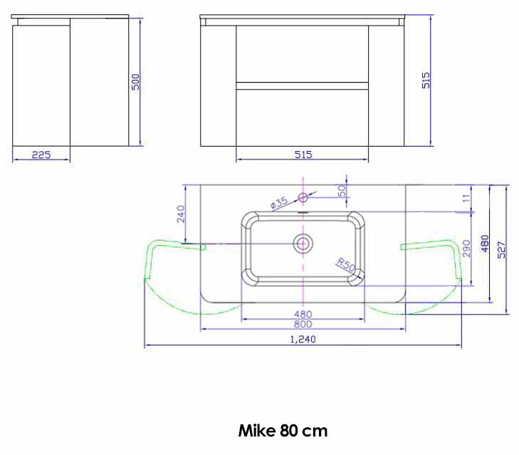 TECHNICAL DRAWING schema-mike-80