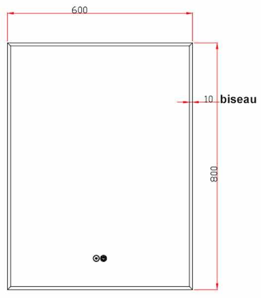 TECHNICAL DRAWING schema-miroir-pure-60x80
